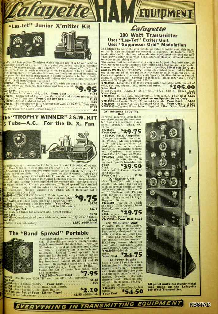 Sixty Years of Lafayette Radio