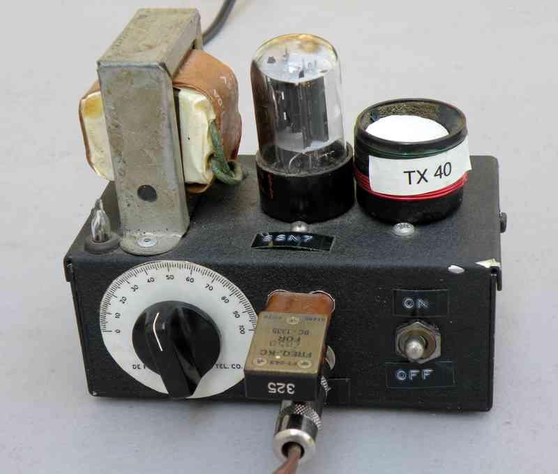 6SN7 homebrew QRP Transmitters
