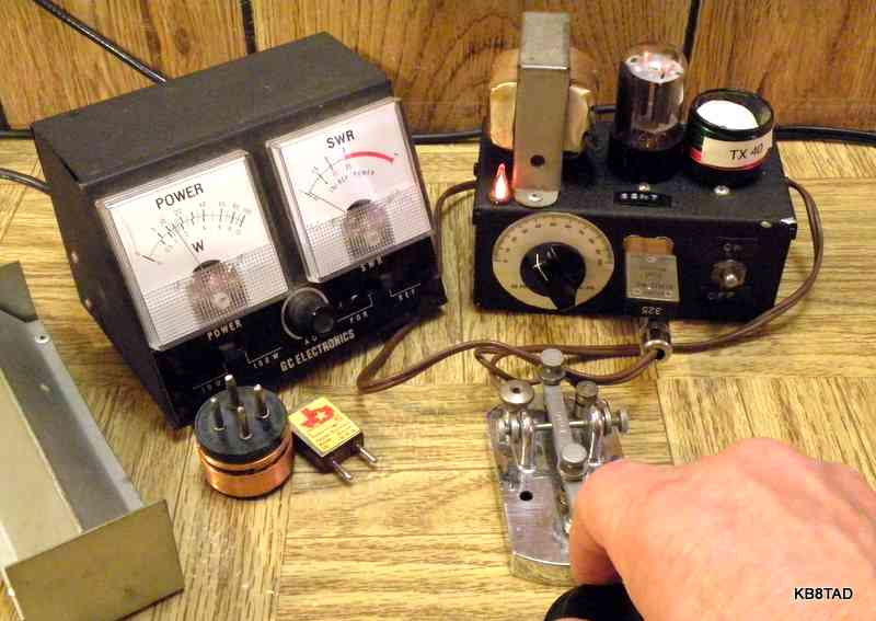 One Tube QRP Transmitter http://www.ohio.edu/people/postr/bapix/6SN7_QRP.htm