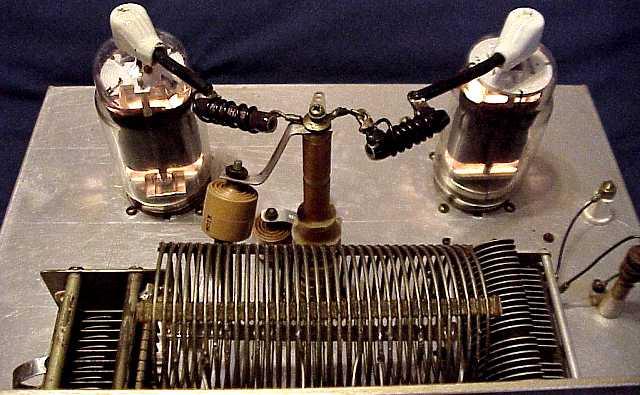 old 813 homebrew Amp