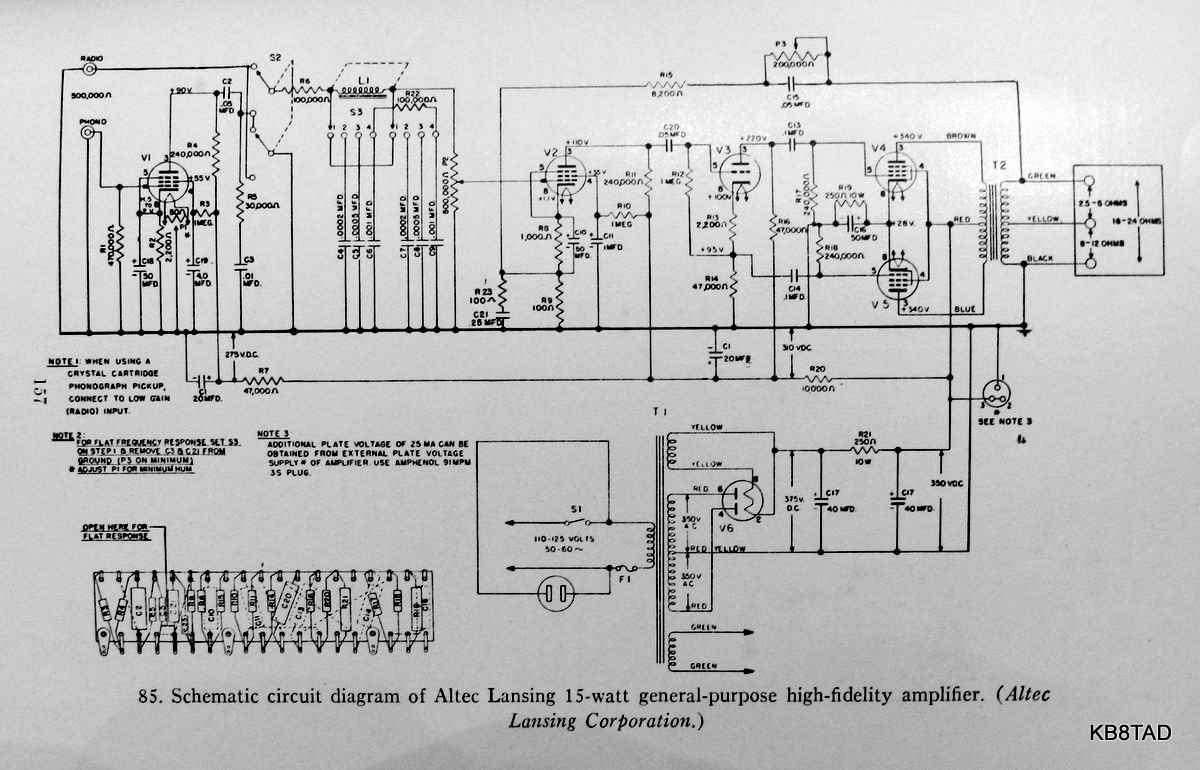 AltSchem altec lansing a 323b amplifier Altec Bucket Wiring-Diagram at n-0.co