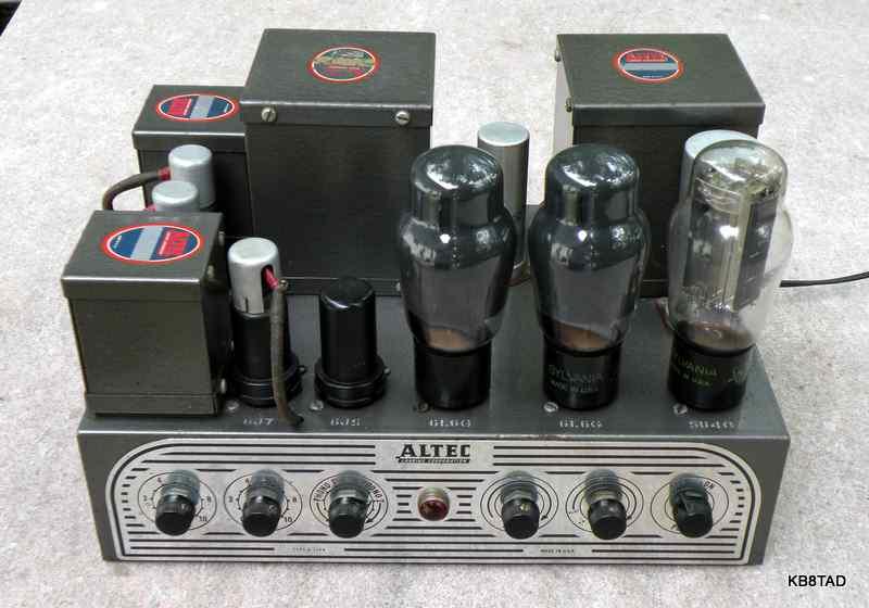 Altec Lansing A-324A Amplifier