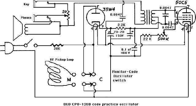 Bud Codemaster code practice oscillators