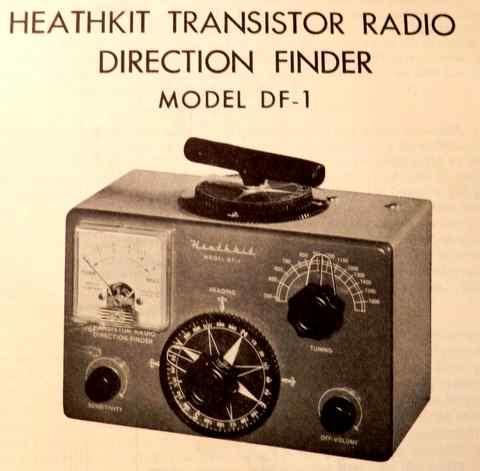 Heathkit MR-18 Marine direction finder radio