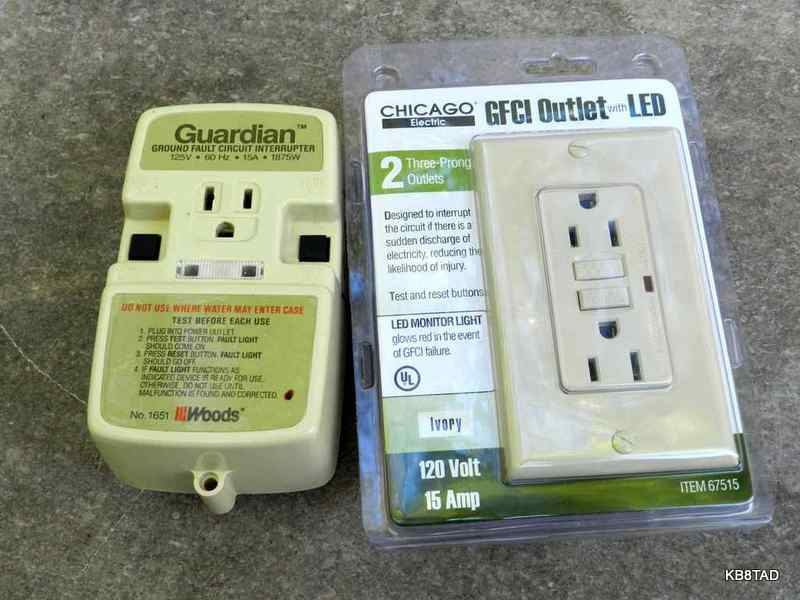 ground fault protection and the ac dc radio rh people ohio edu Ground Fault Interupter Ground Fault Interrupter Outlet