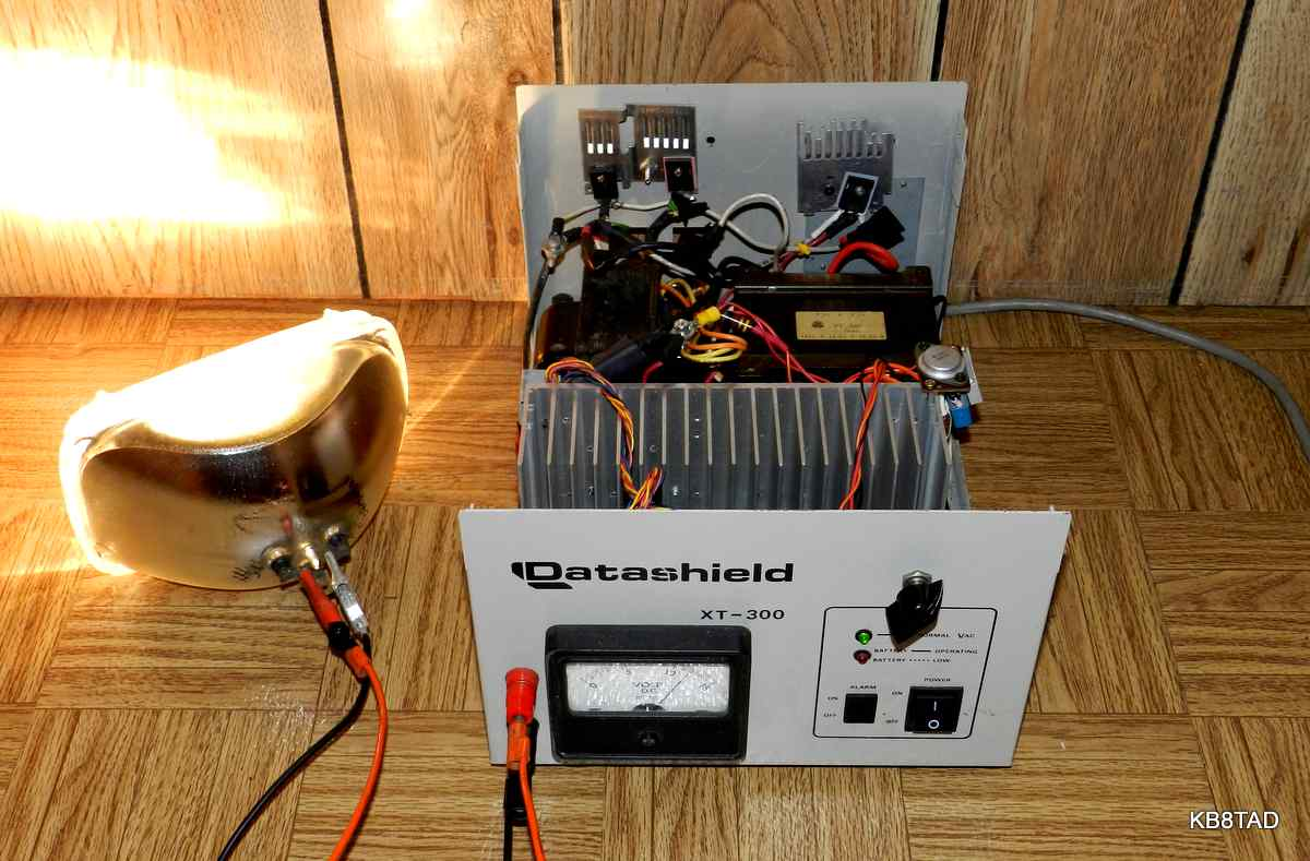 High power variable DC power supply from recycled parts