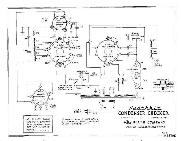 heathkit test bench 1948