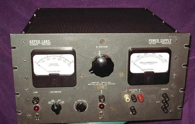 605 Regulated Power Supply
