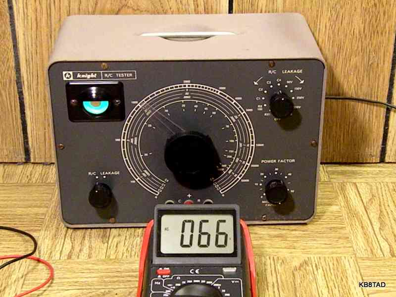 Tube-era capacitor analyzers - Part Two