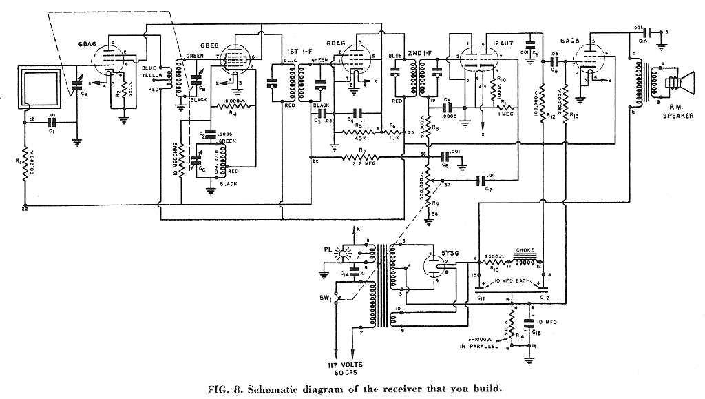 NRI AM radio schematic