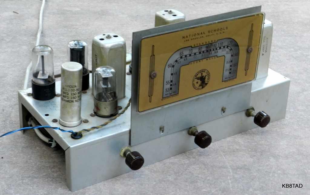 National Schools AM/SW radio kit