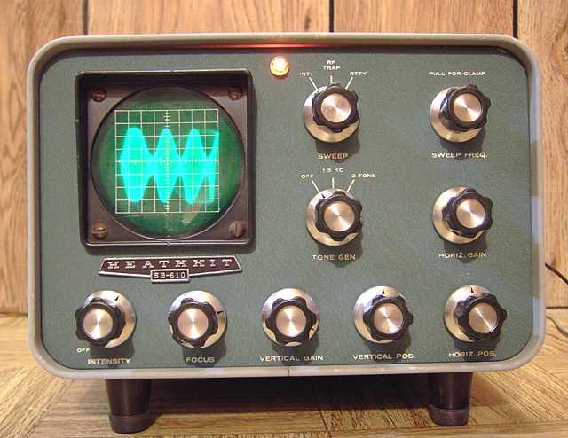 Heathkit SB 610 Monitor Scope